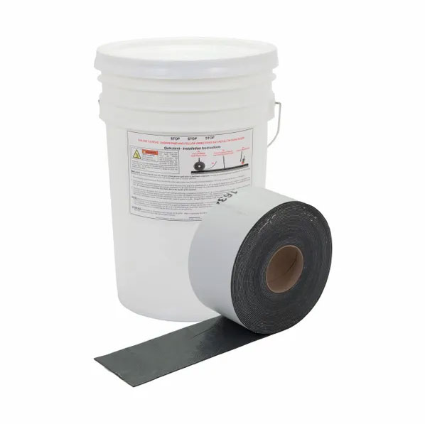 QuikJoint Pail of 4 inch wide